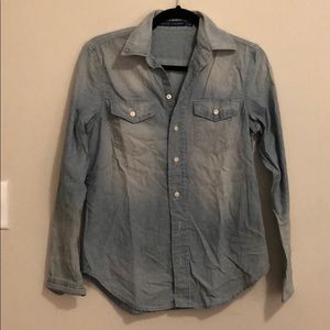 New Ralph Lauren vintage style chambray button up